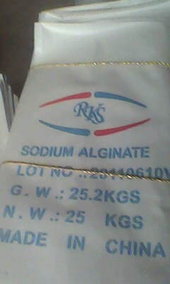 Sodium Alginate Paste for Dyeing