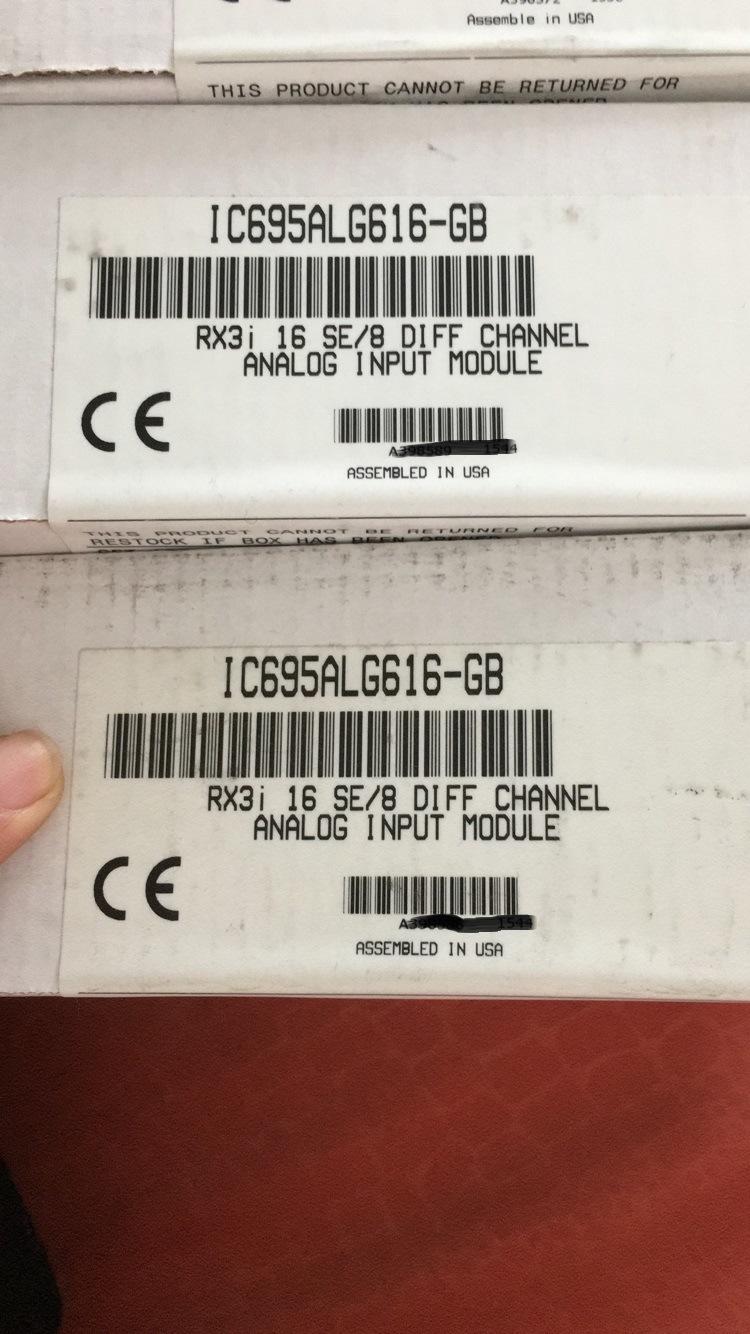 Ge PLC IC695alg616