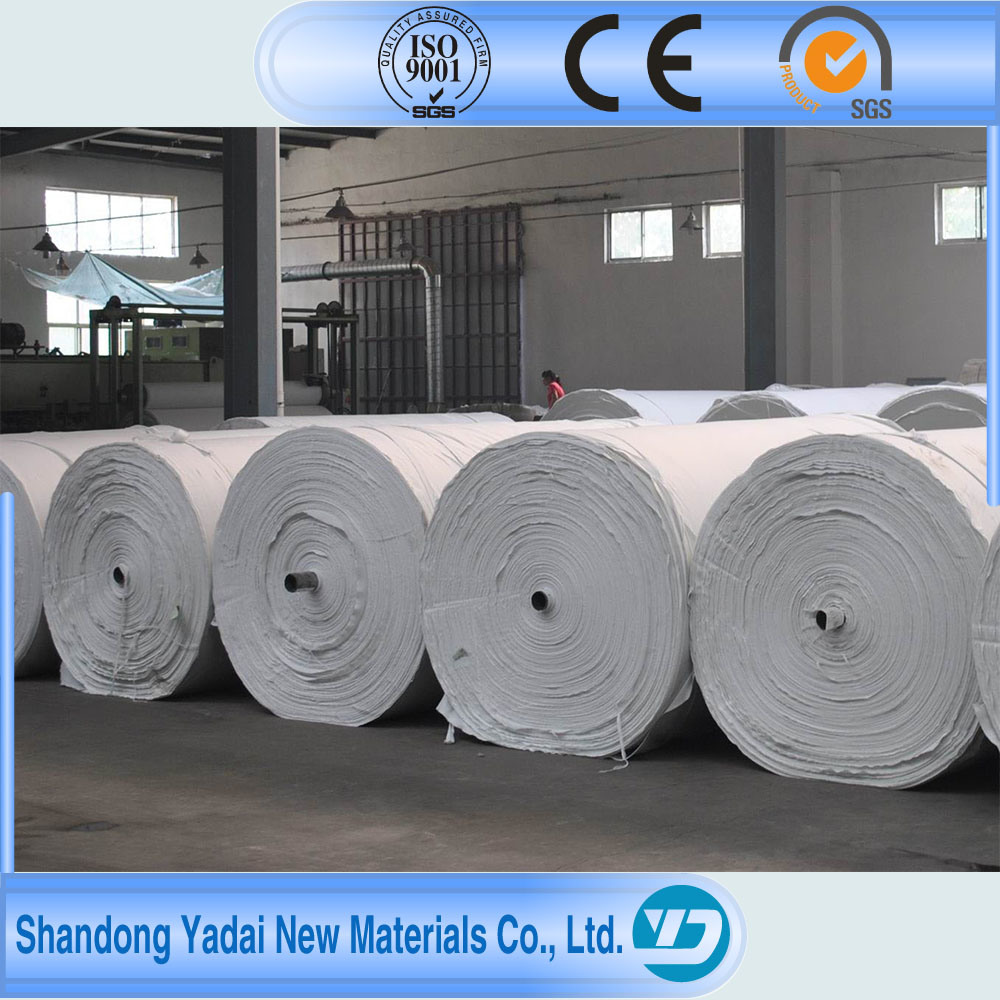 Fire Resistance Needle Punched Nonwoven Geotextile Polyester