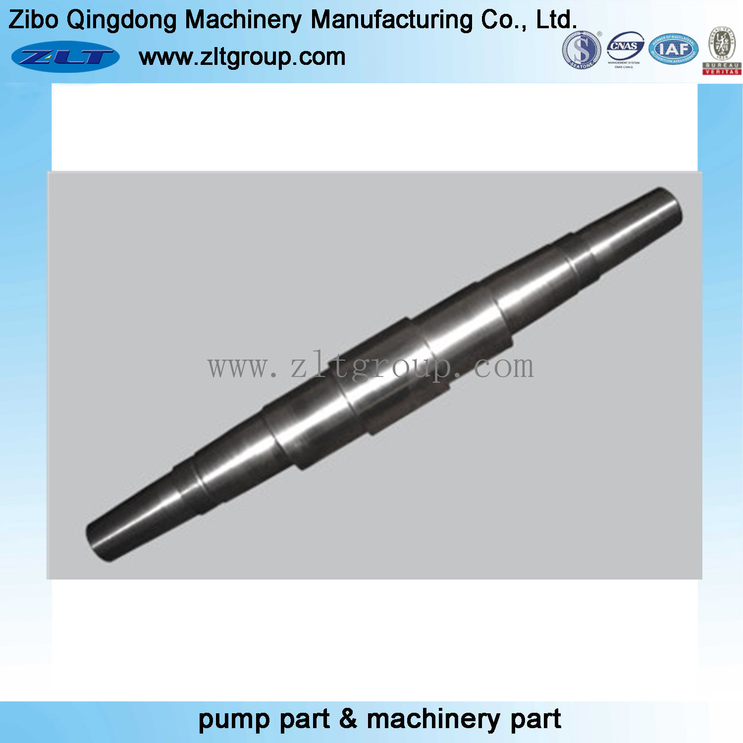 Centrifugal Pump Stainless Steel /4140 Pump Shaft with CNC Machining