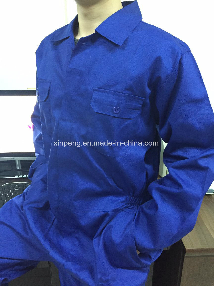 Blue Coverall One PC Work Uniform