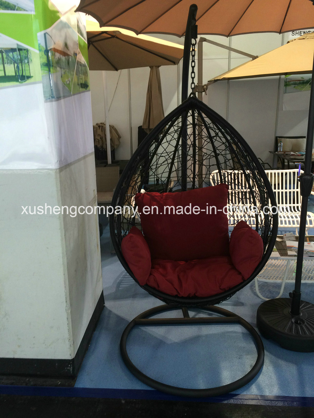 Popular Outdoor Patio Hanging Egg Swing Chair