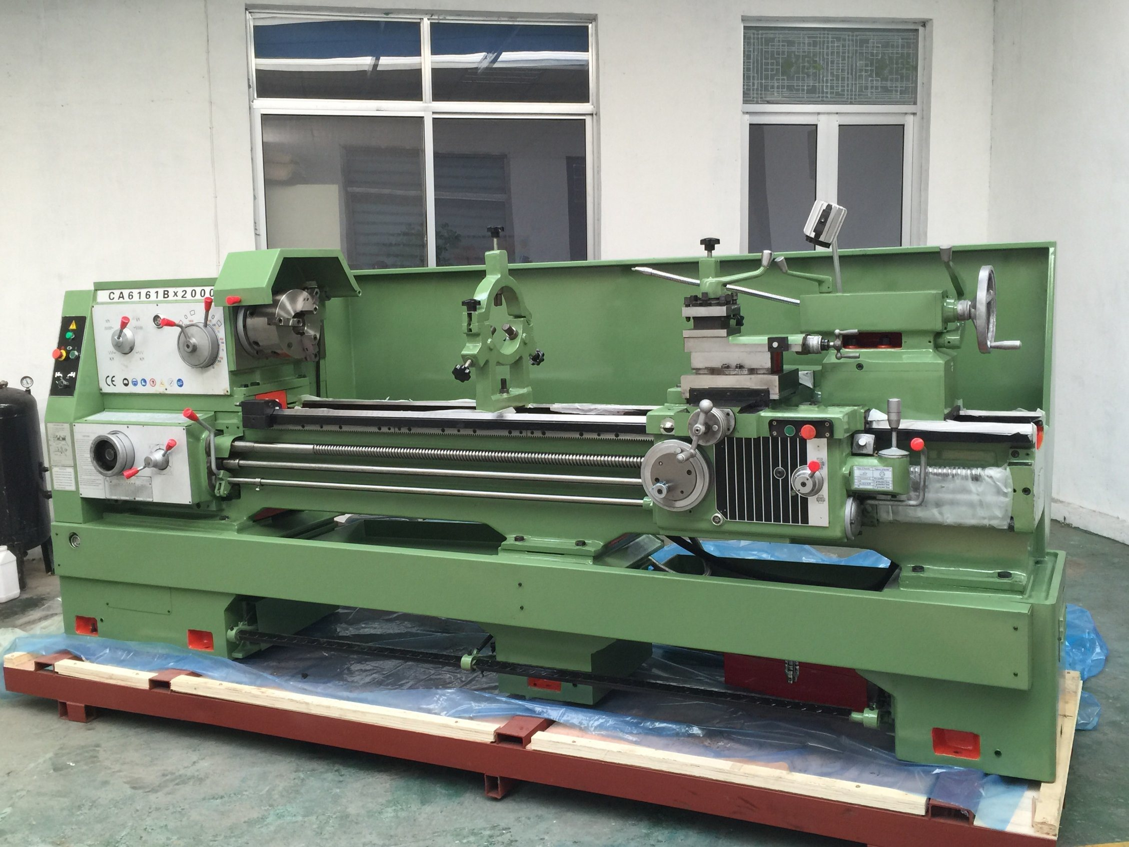 Ca6150 Universal Metal Common Lathe with Gap Bed Turning Lathe
