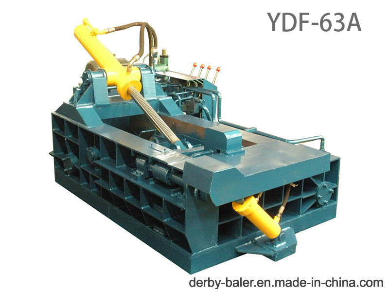 Baler Machine Briquette Machine Press Machine Metal Baler Hydraulic Machine for Aluminum Iron Manual (FDY-63A)
