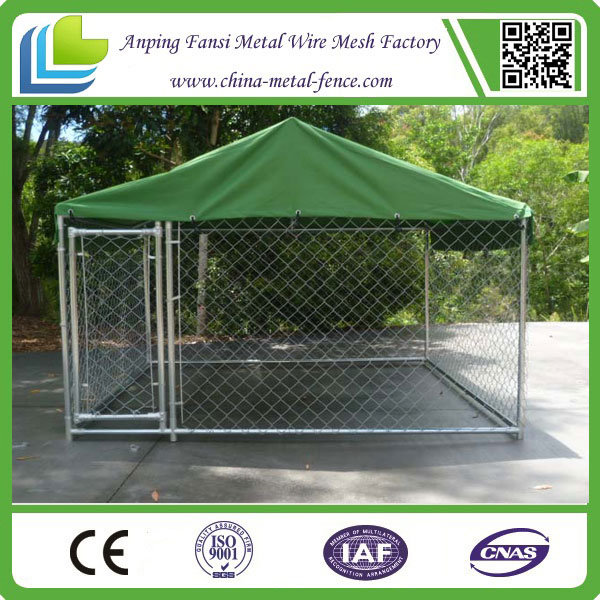 1.8m Hot DIP Galvanized Metal Pet Cage