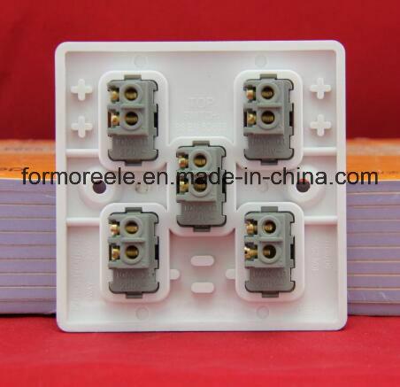 Four Gang One Way Switch /Wall Switch /British Wall Switch /Switch Socket