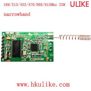 Sigfox Network Narrowband Wireless Module Cc1120+MCU 170/433/779/868/915MHz 20km RF Module Transceiver Module