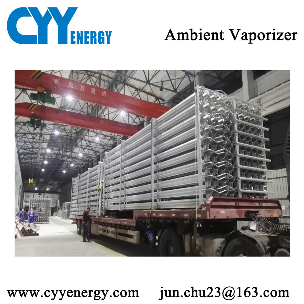 Cryogenic Liquid Oxygen Gas Air Heated Ambient Vaporizer