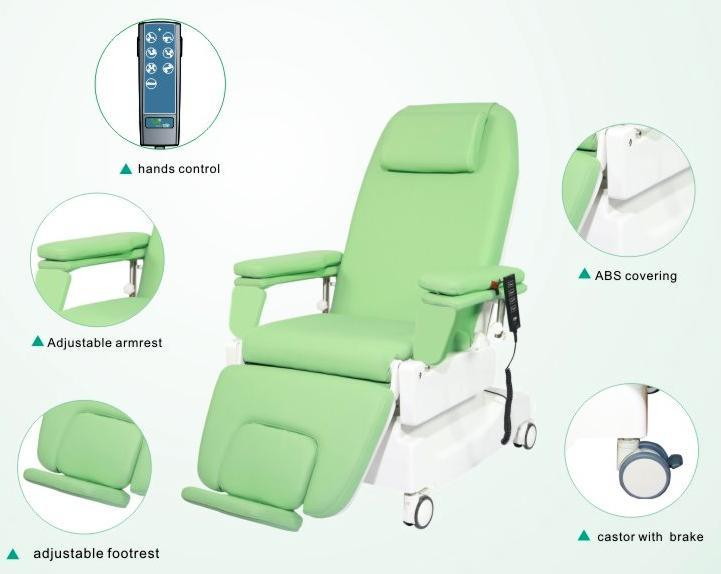 Hot Selling Electric Dialysis Chair with Ce ISO