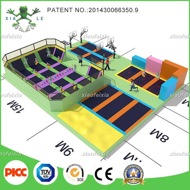 Xiaofeixia China Top Quality Custom Made Trampoline Park