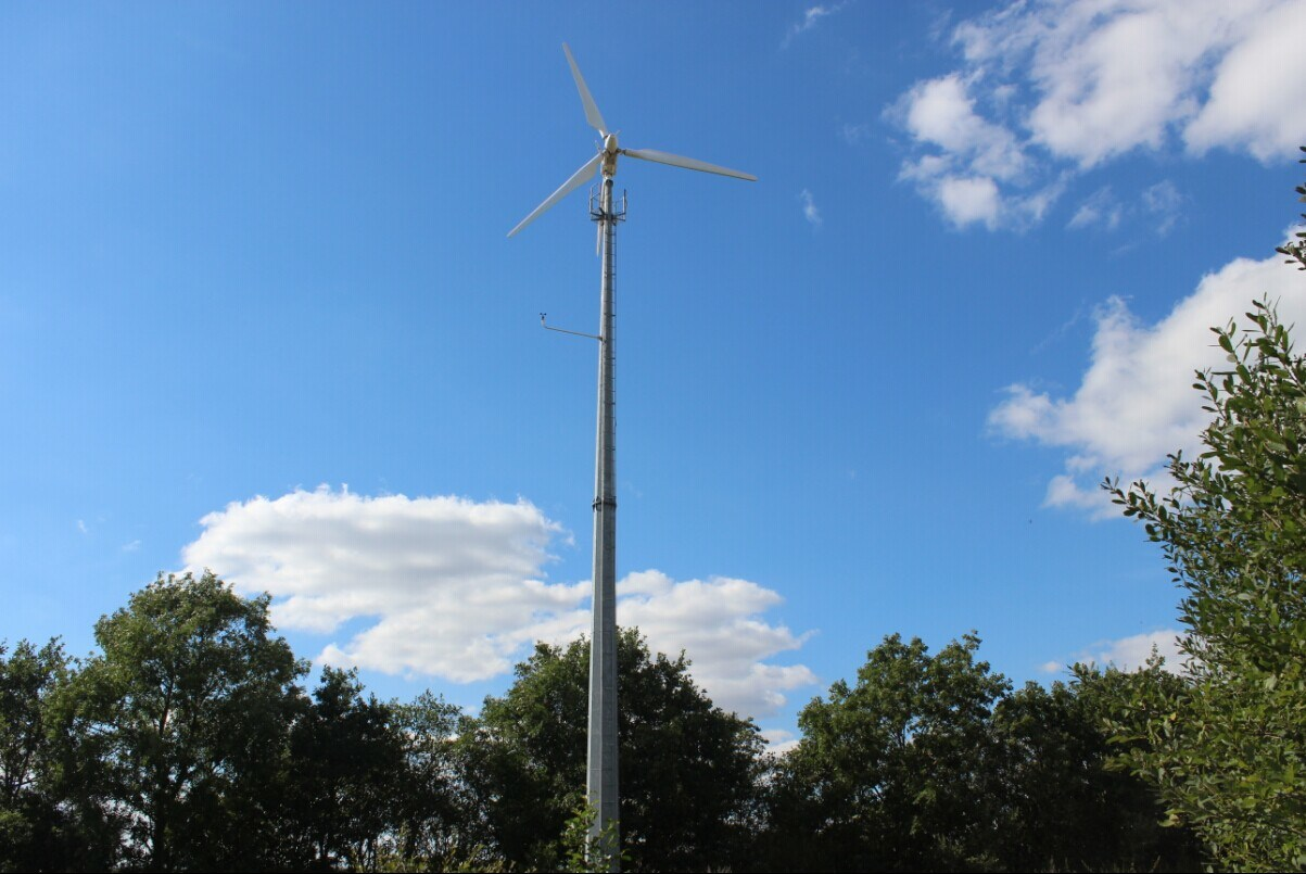 Ah-5kw Variable Pitch Wind Generator for on-Grid Solution Plan