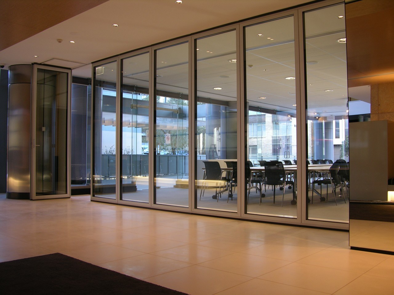 China framed movable office glass partition wall systems for Movable glass wall systems