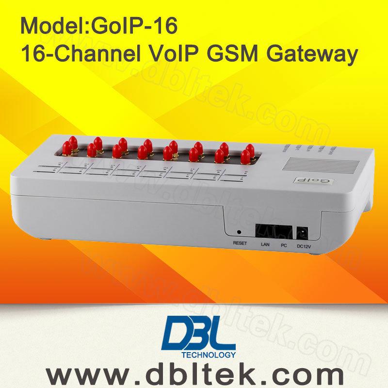 16-Channel VoIP GSM Gateway GoIP-16 GoIP Gateway
