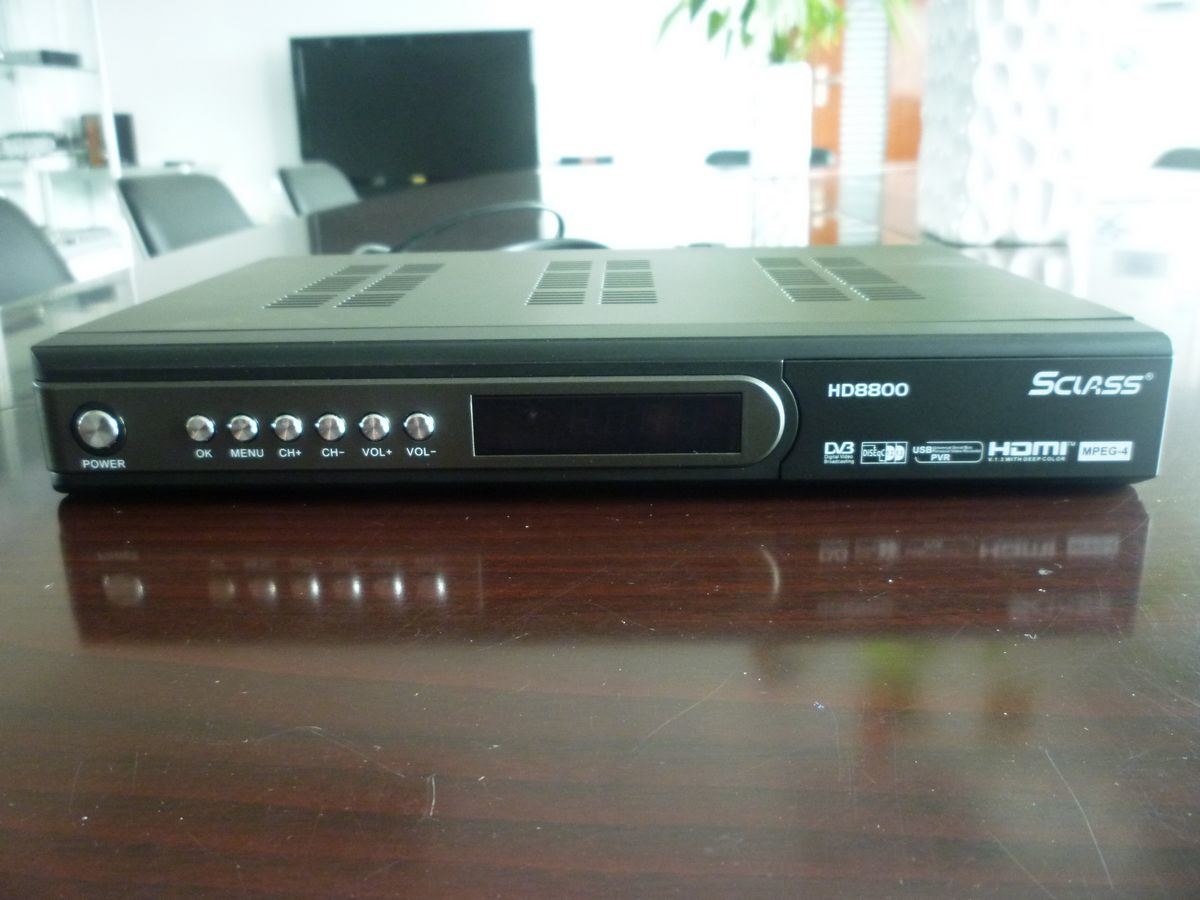 HD Free to Air Receiver MPEG4 Set-Top Box (HD8800)