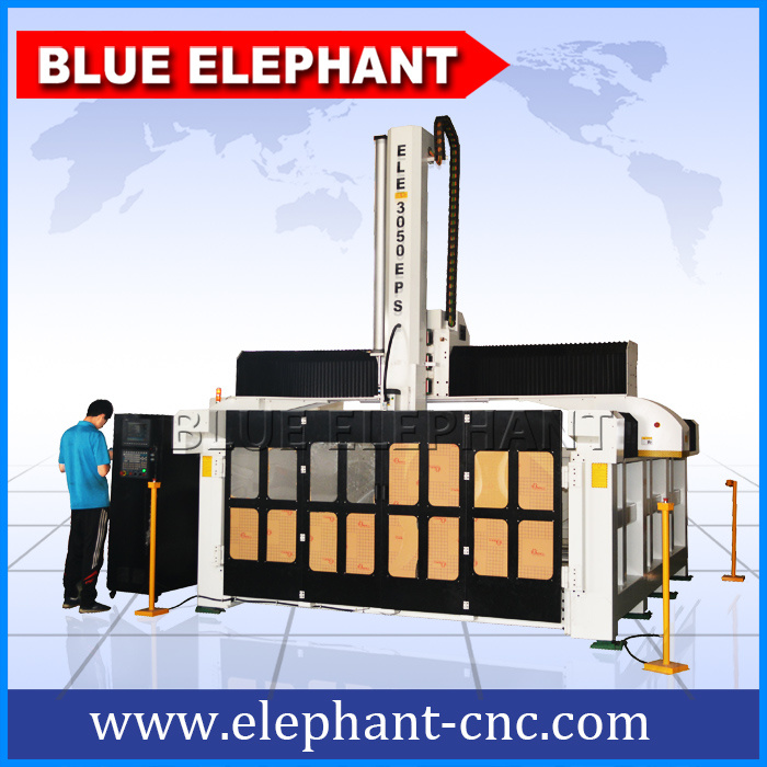3050 Big Size 4 Axis Router CNC 3D Molding Machine, CNC Machine for Mold Making