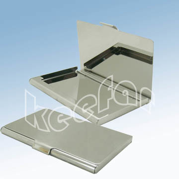 China Metal Business Card Holder China metal business
