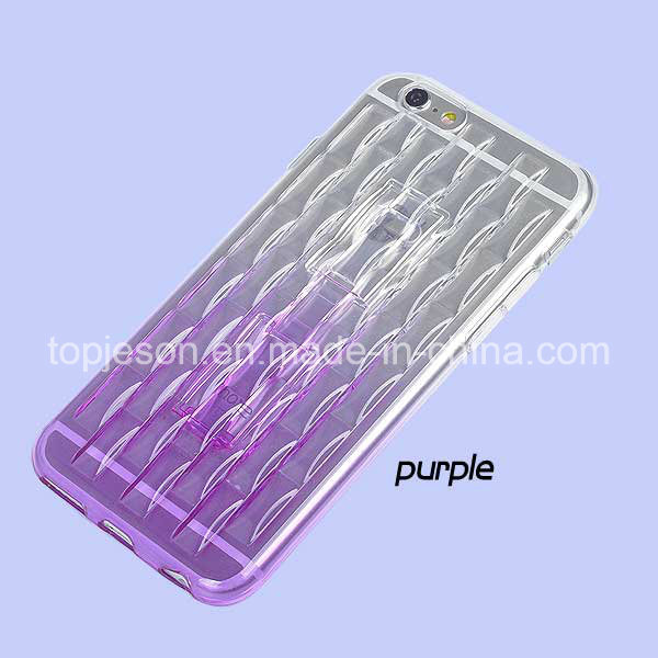 Funtional TPU Soft Cell Phone Case for iPhone 6 Plus