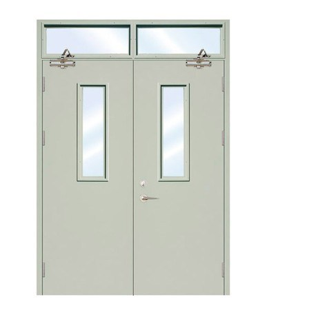 120mins BS Tested Fireproof Steel Door (JFD-707)