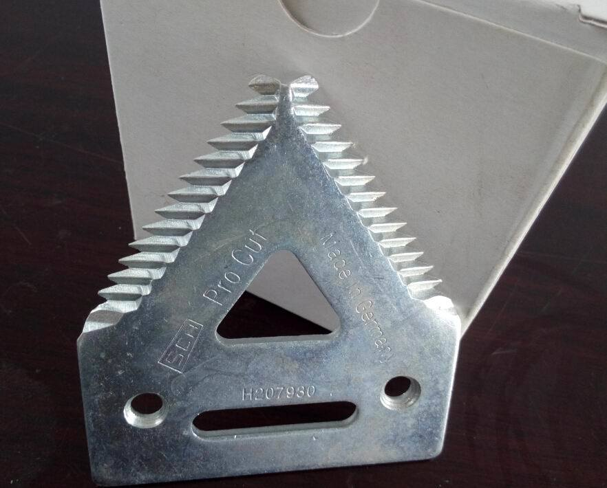 Surface Treatment Galvanized Rust-Proof Knife Section