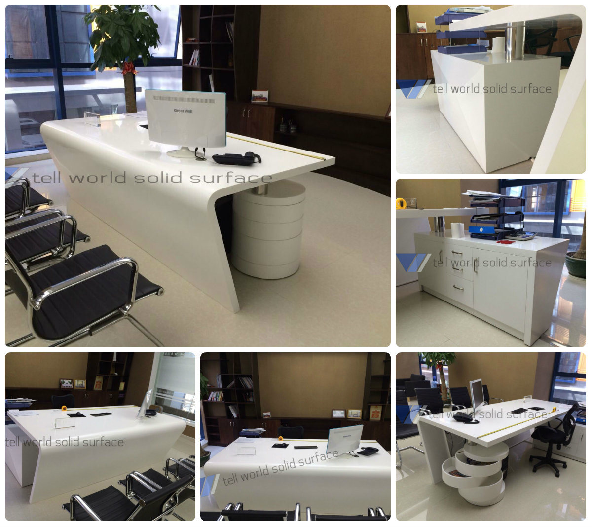 China Customized Design Manager Office Table Design Office