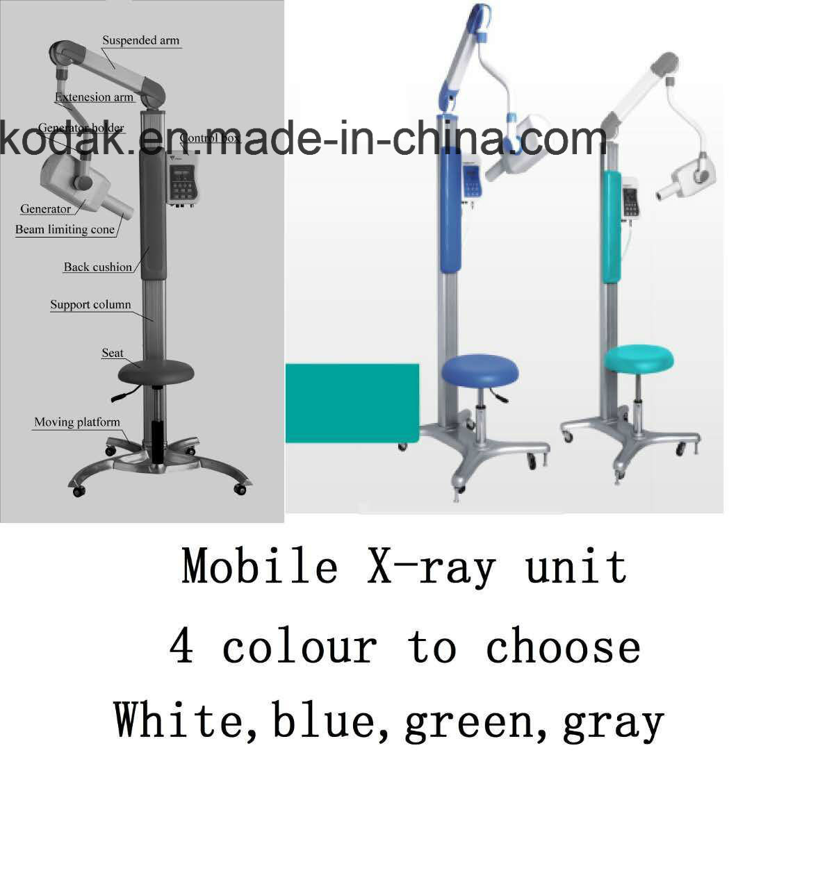 Moving Type Portable Dental X-ray