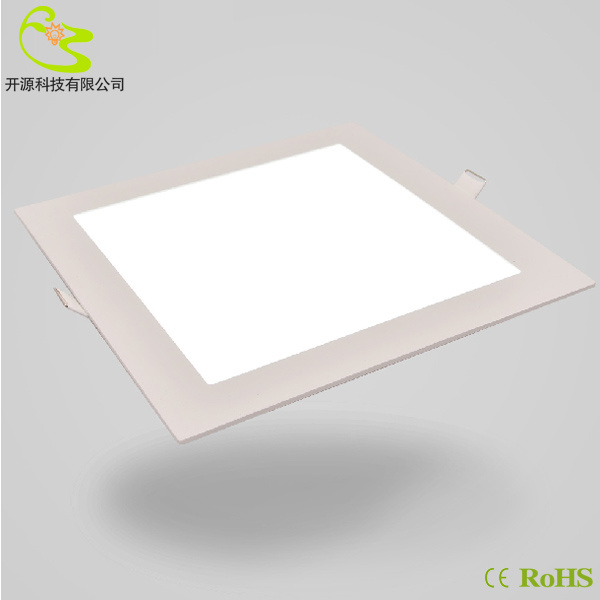 China New Arrived Recessed SMD 16W Square LED Panel Light 200 200mm LED Downl