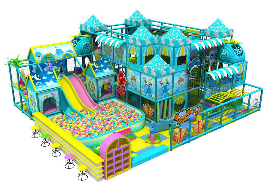 Top Grade Top Sell Indoor Playground Equipment