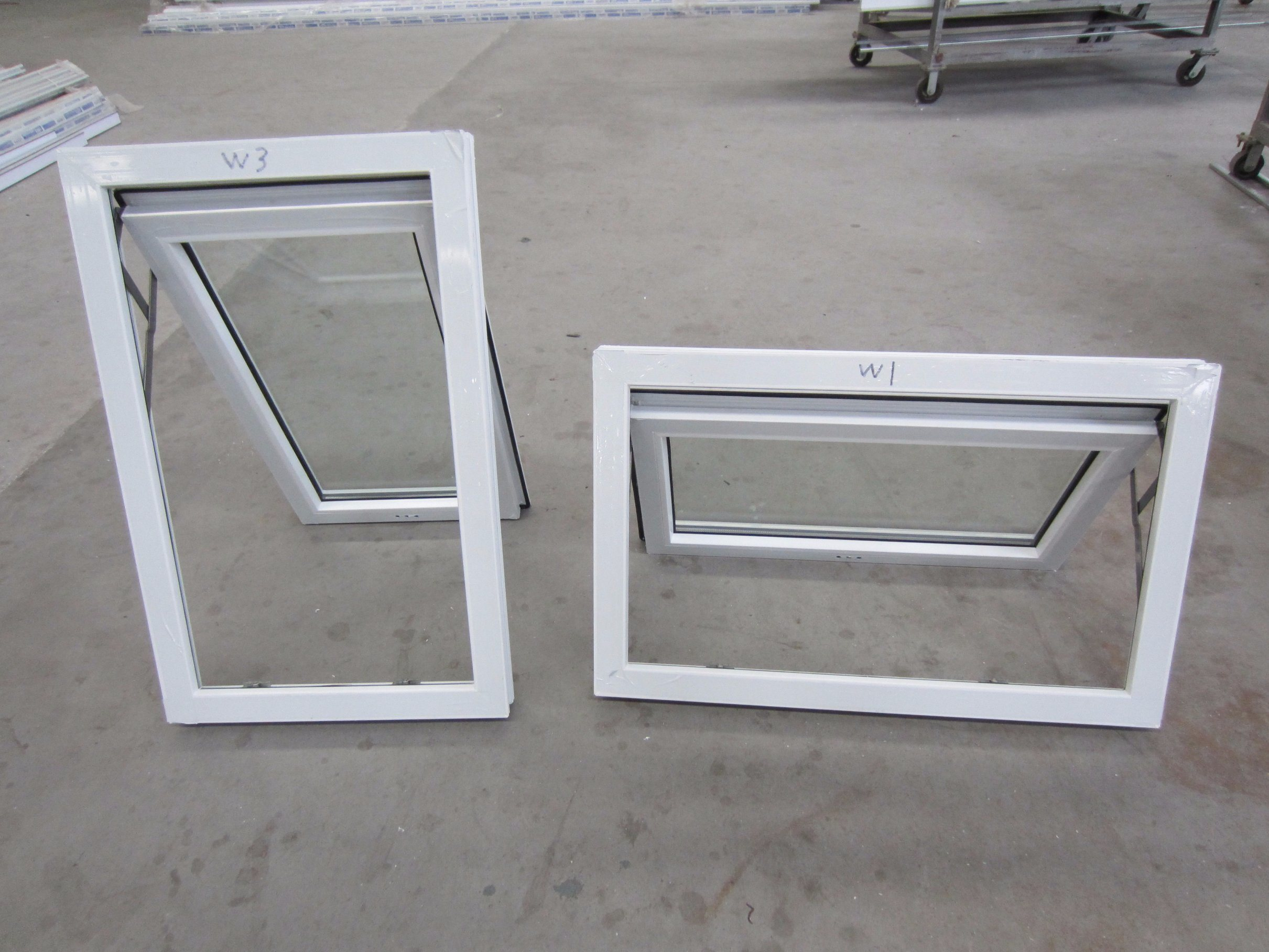 Impact Resistant Glass Top Hung Window Skylight