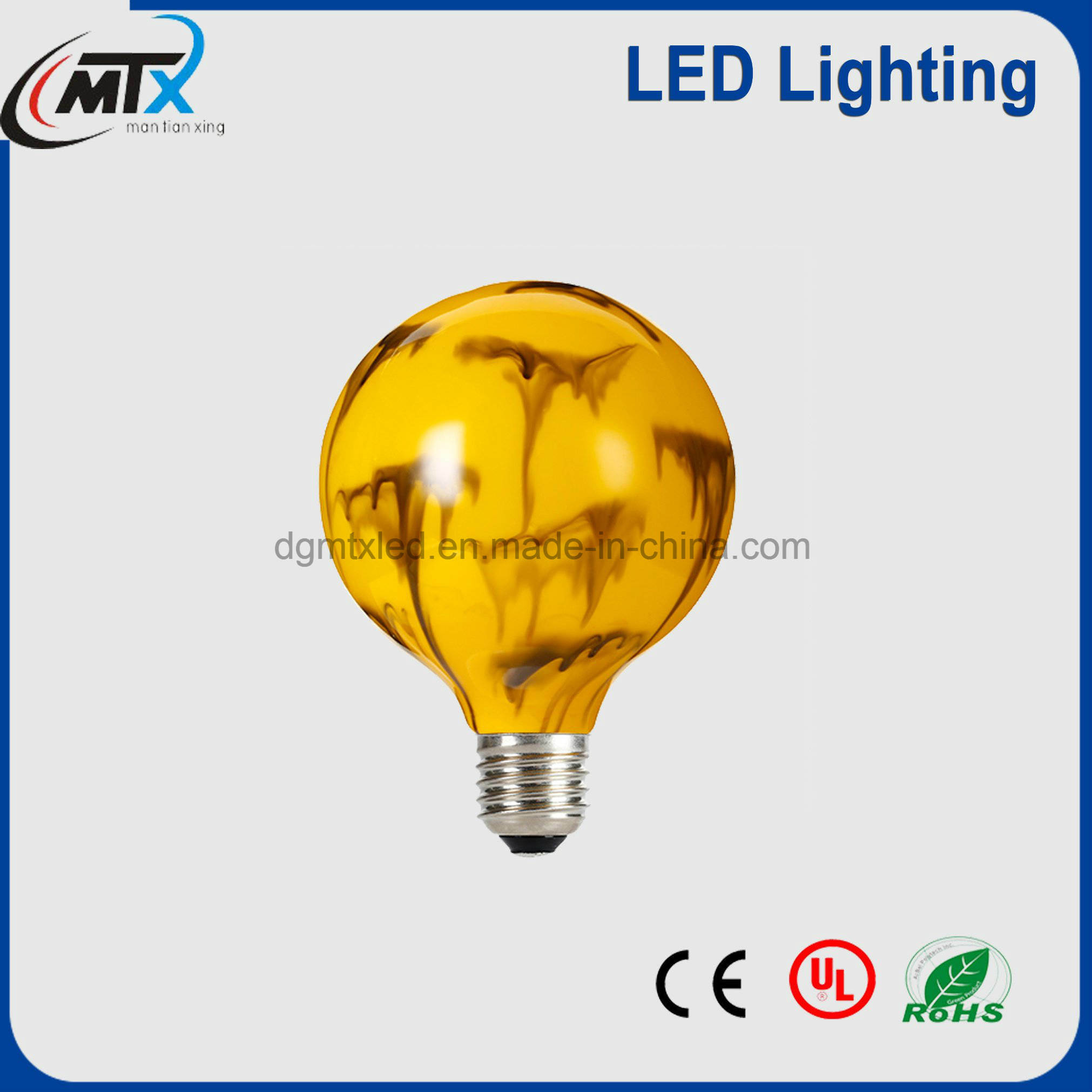 Popular in Europe RoHS E27 G125 Modern LED Decorative Bulb