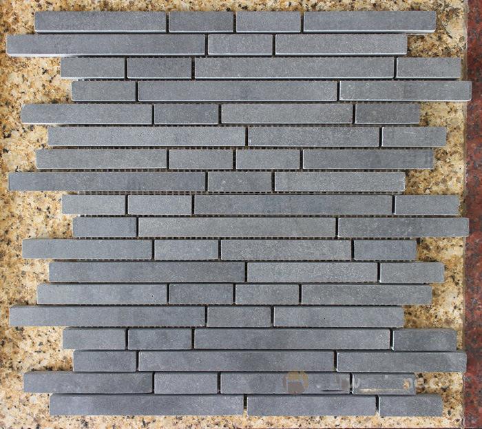 China Mosaic, Basalt Mosaic Stone, Grey Basalt Stone