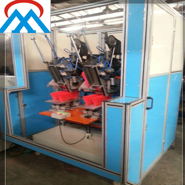 2 Axis Automatic Double Head Broom Machine