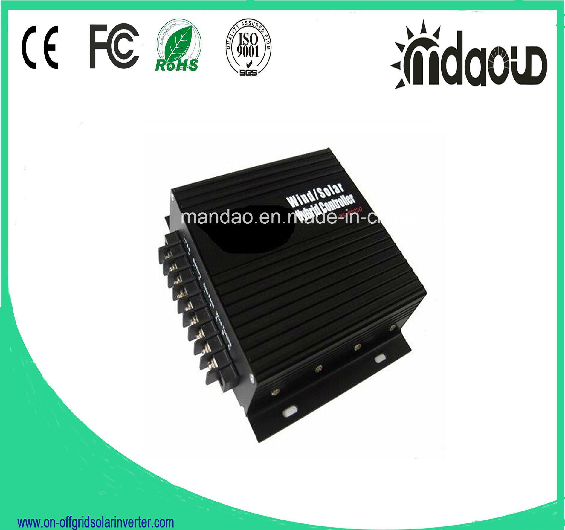 12V 24V 30A Wind Solar Hybrid Charge Controller