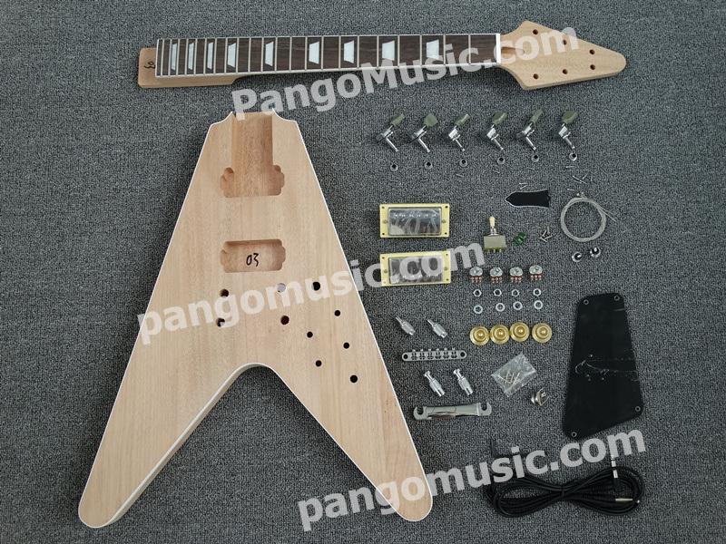 Pango Flying V DIY Electric Guitar Kit / DIY Guitar (PFV-903K)