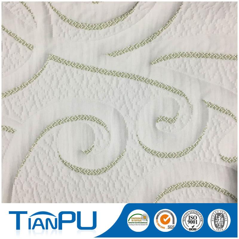 Eco Friendly Waterproof Treatment Mattress Ticking Fabric for Mattress
