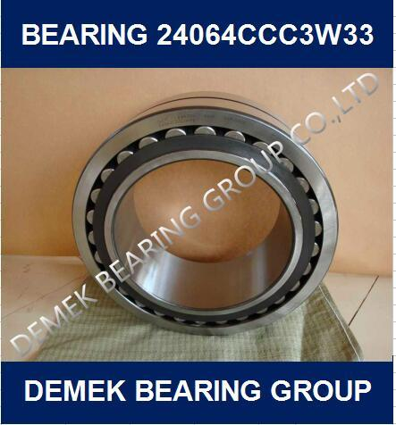 High Quality Spherical Roller Bearing 24064 CCC3w33 with Steel Cage
