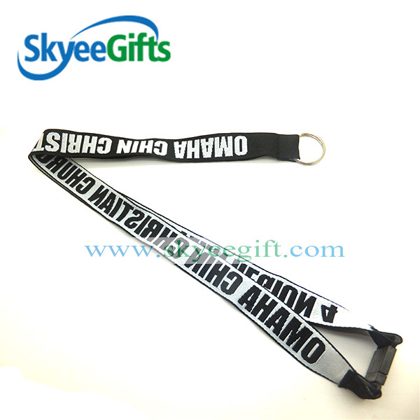 Eco Friendly Screen Printed Cheap Custom Lanyards