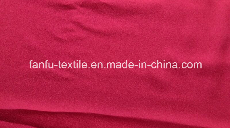 100% Polyester 75dx75D Faille Crepe Fabric