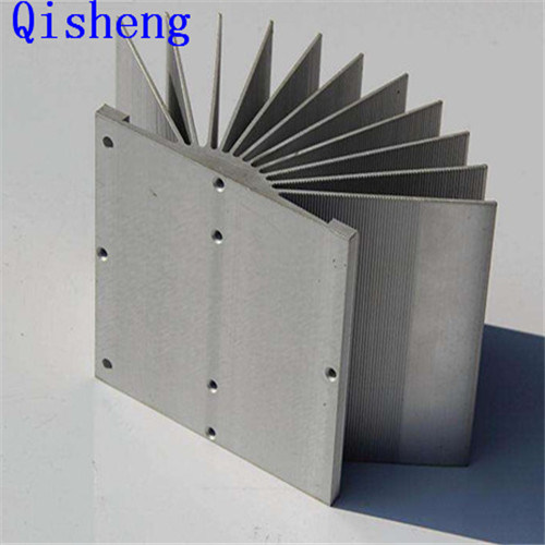 Heat Sink, CNC Machining, Al 6063