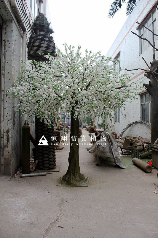 Outdoor Artificial Fake Cherry Sakura Blossom Tree
