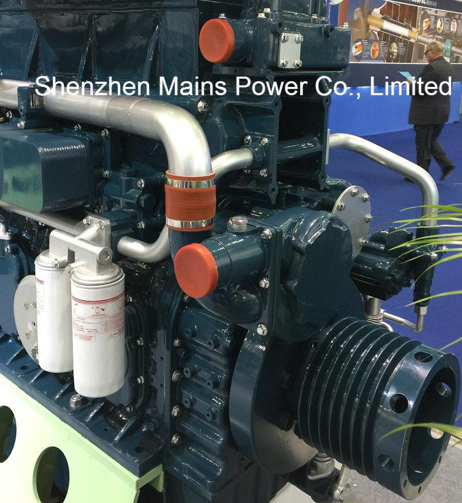 1135HP 1000rpm Germany Technology Yuchai Marine Diesel Engine Inboard Motor