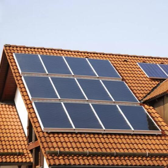 Home Pitch Roof 2kw on-Grid Solar Energy System Solution