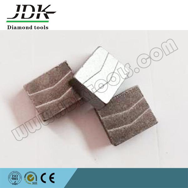 Grooved Type Diamond Tool Segment for Cutting Spanish Granite
