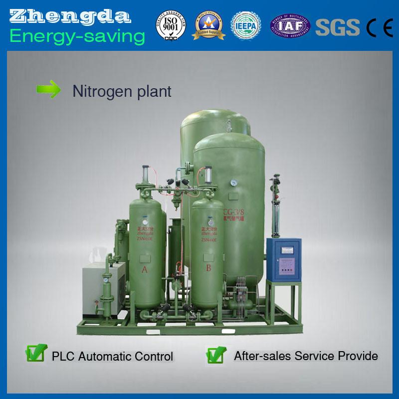 High Purity Skid-Mounted Nitrogen Generator for Petroleum Industrial