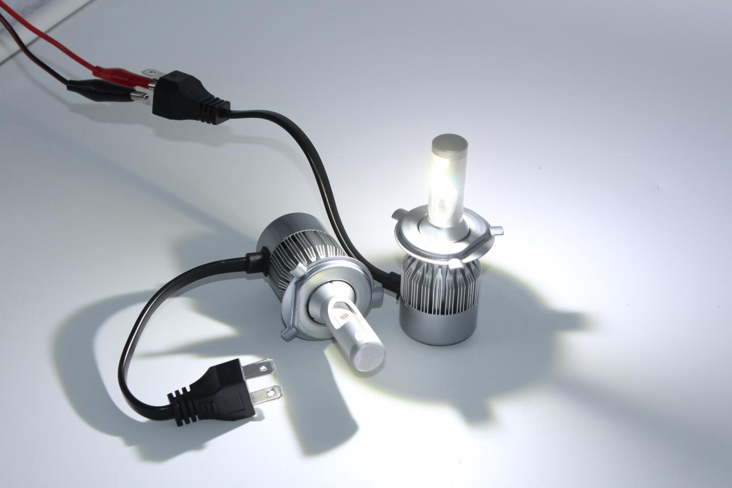 Factory 2017 Latest Super Bright Mini LED Headlight Bulb H7 40W 4800 Lumen H11 LED Headlight H4 LED