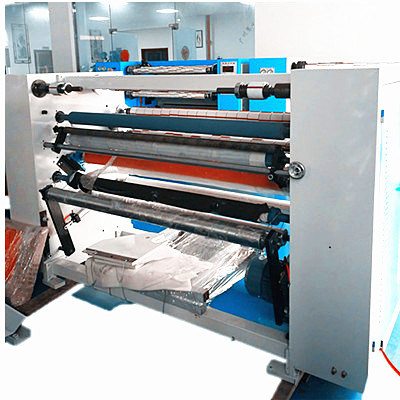 BOPP Transparent Tape Automatic Slitting Rewinder Machine