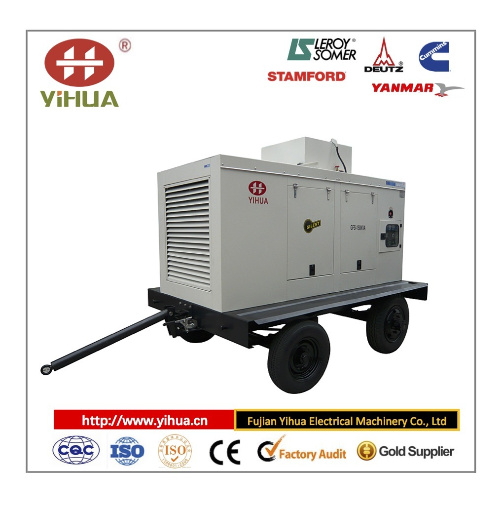 Cummins Trailer Movable Type Power Generator (10-1200KW)
