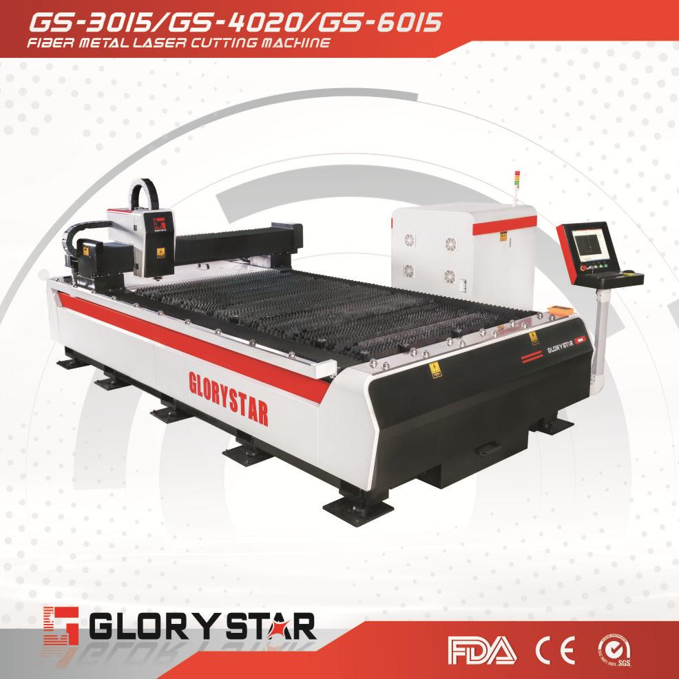 500W 1000W 2000W Fiber Laser Cutting Machine for Metal Sheet
