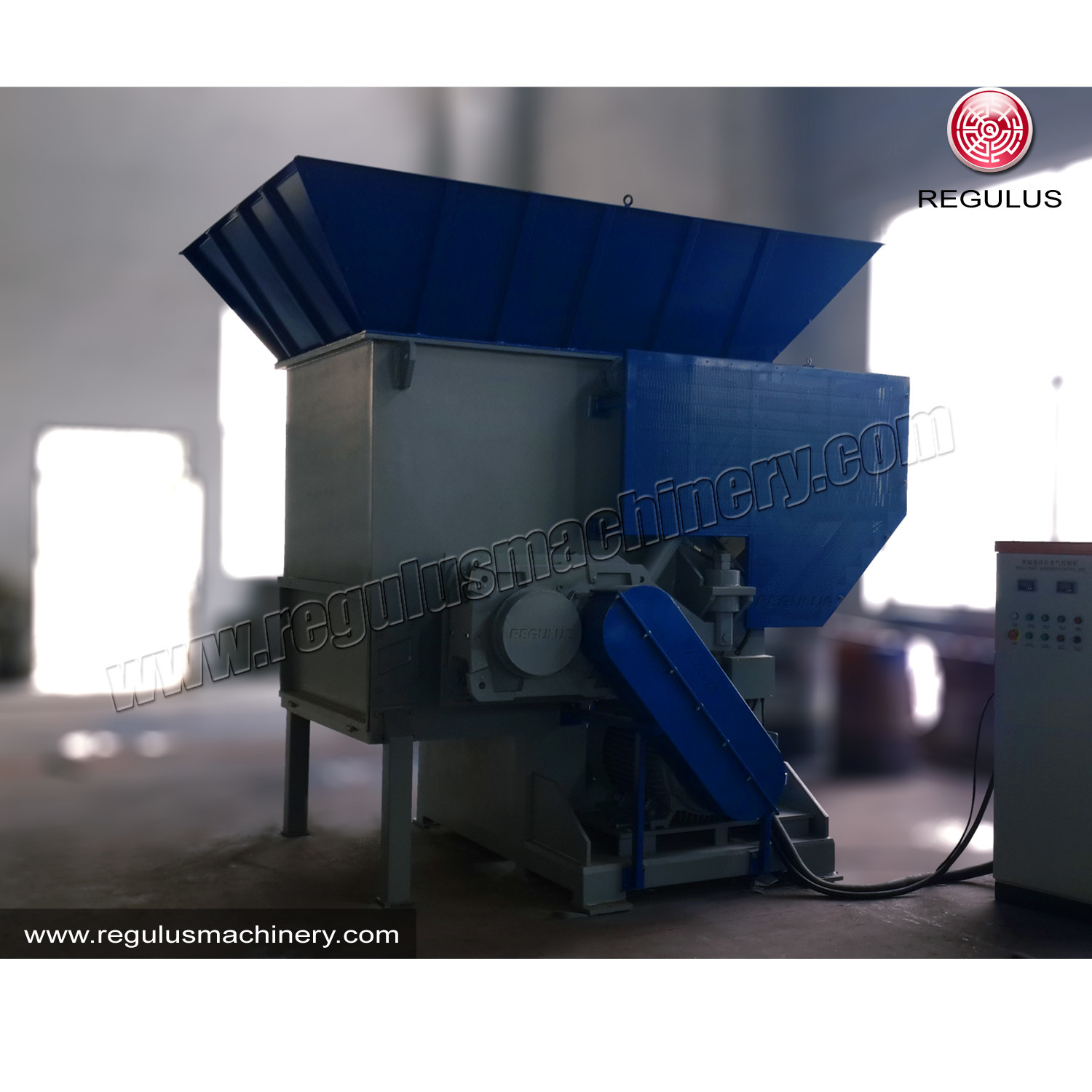 Industrial Plastic Film Shredding Machine/Granulator