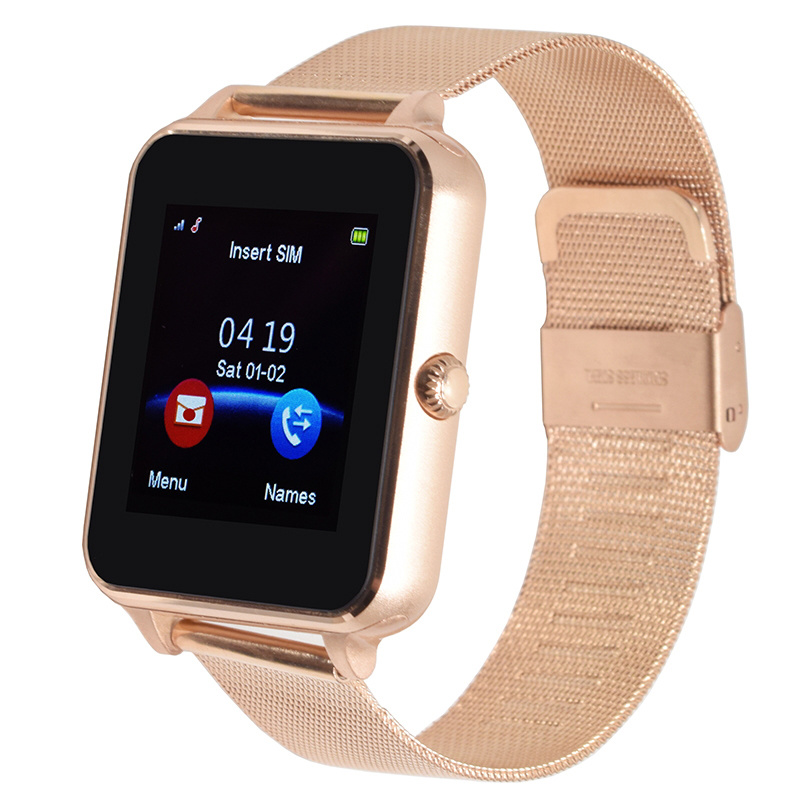 Smart Watch for Android Phone Support Pedometer Twitter Bluetooth