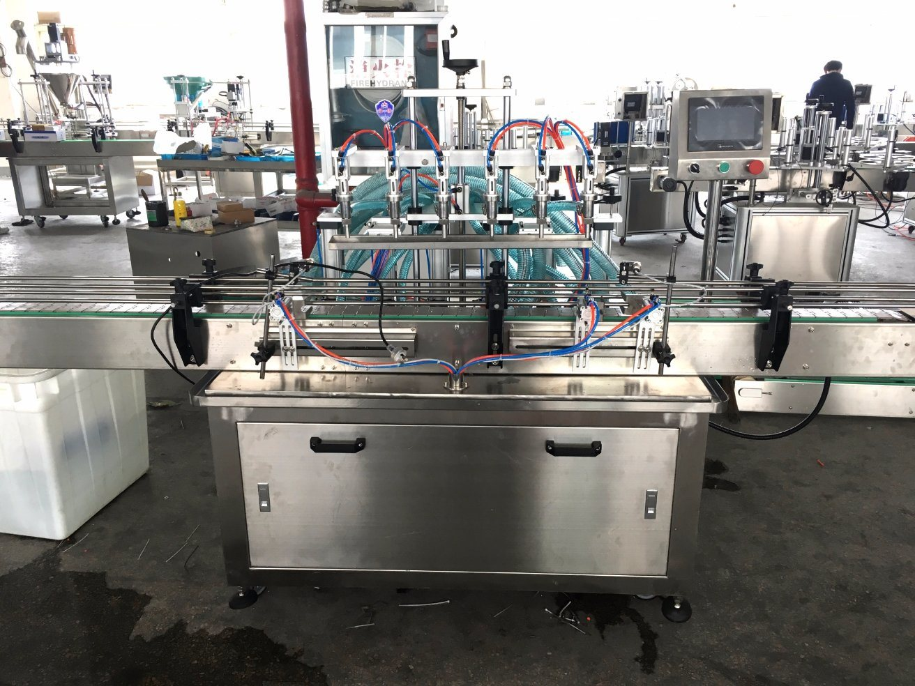 Automatic Water Filling Machine/Liquid Filler/Liquid Filling Machine From China